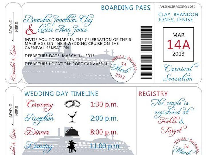 Tmx 1358434522301 6041044598714140598061427231748n Ocala, FL wedding invitation
