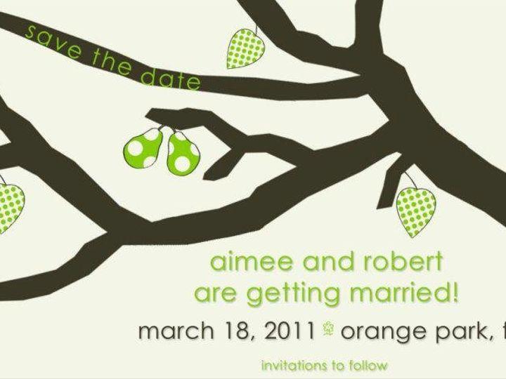 Tmx 1358434676033 541151345876175459331988871597n Ocala, FL wedding invitation