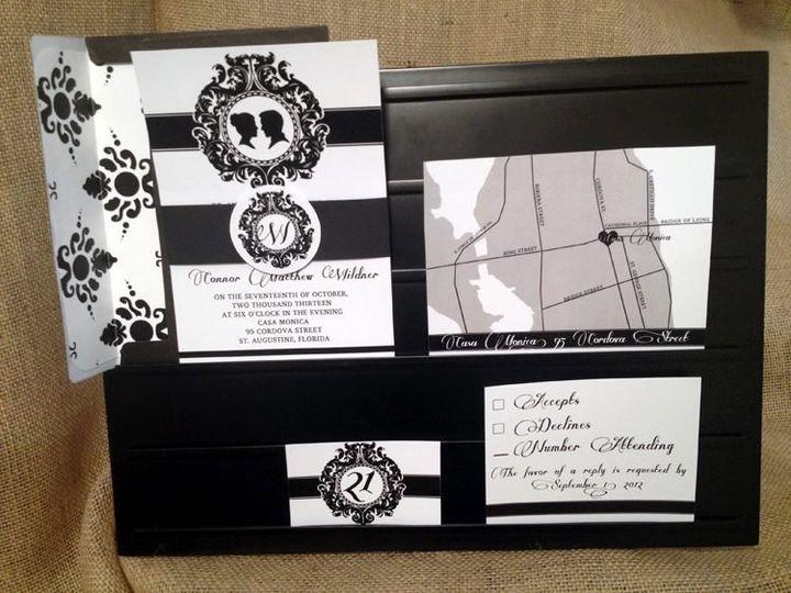 Tmx 1358435041664 3996954313362135799931459286709n Ocala, FL wedding invitation