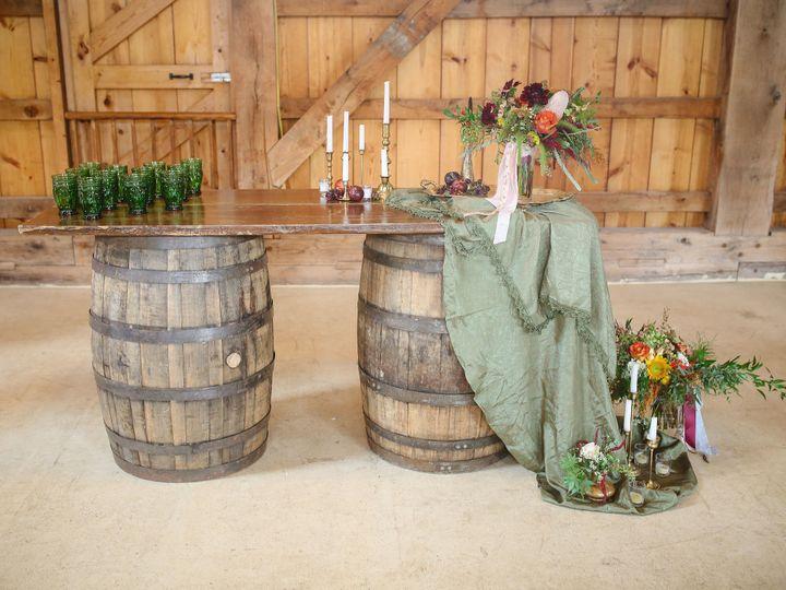 Tmx Wine Barrel W Bar Top 51 514457 Kearneysville, WV wedding rental