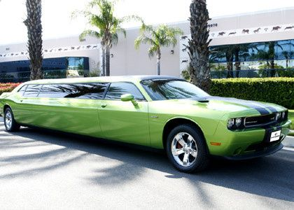 Stretch lime green Challenger