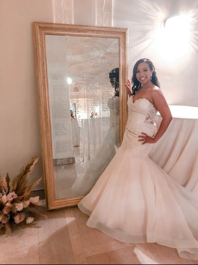 Atlanta Bride with Mirror