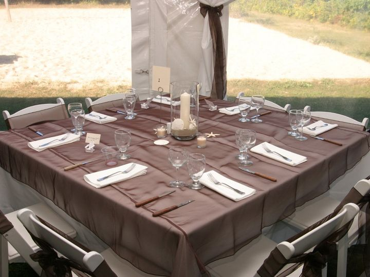 Tmx 1354561081323 Tablesetup Falmouth wedding catering