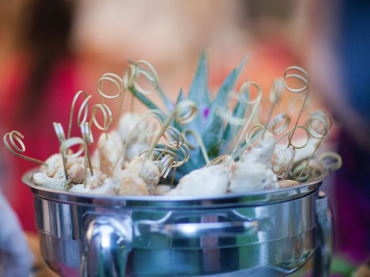 Tmx 1382629099836 Jeremy  Katie   Pineapple Chicken Skewers Falmouth wedding catering