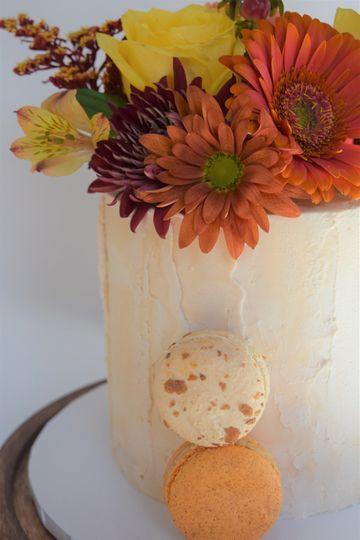 Rustic Fall Cake
