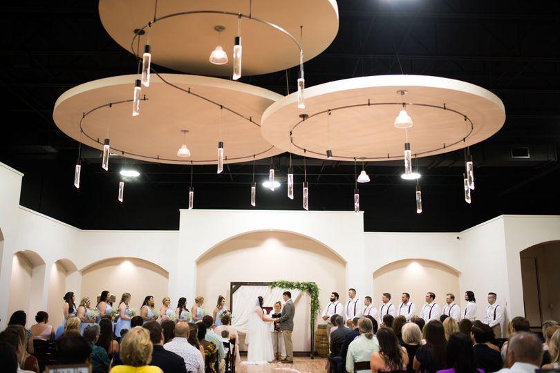 Flores wedding - Llano Estacado winery