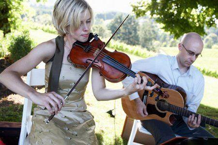 Violin and guitar