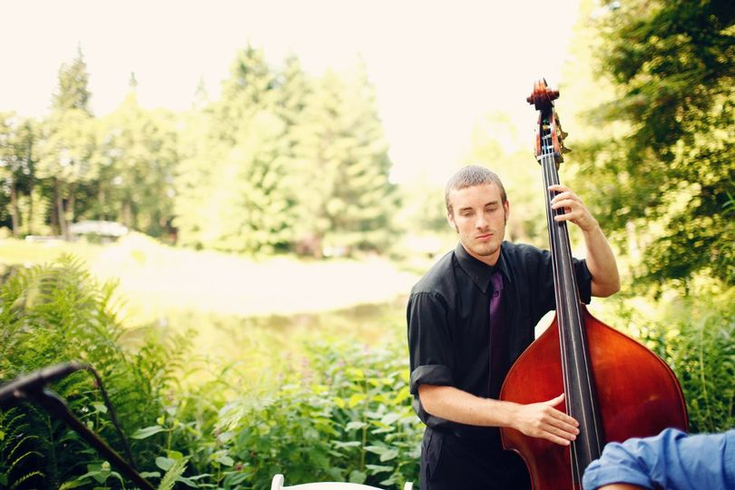 Many people don't think of upright bass for wedding music but it is a great versatile option when...