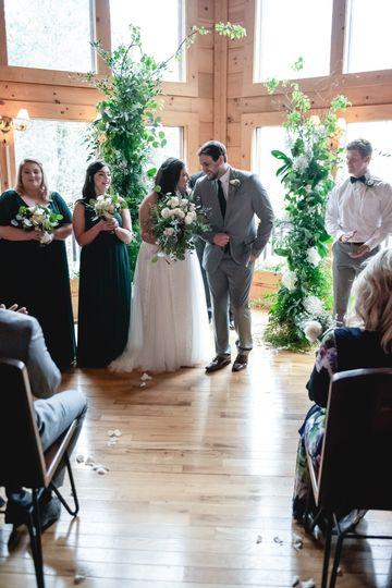 Bzorgi-Troutt Wedding