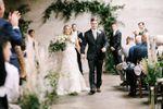 String of Pearls Wedding Flowers image