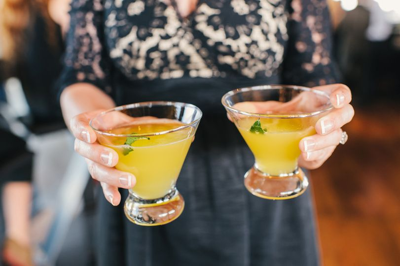 Pineapple martini | Forks & Corks Catering