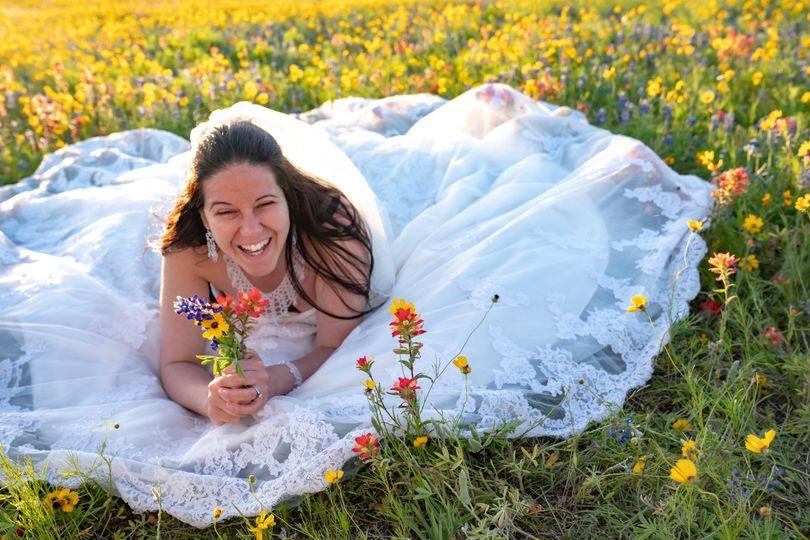 The wildflower bride