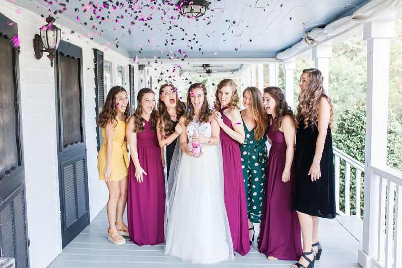 Confetti celebrations - Jennifer Marie Photography