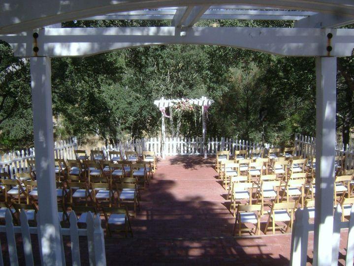 Set for a ceremony