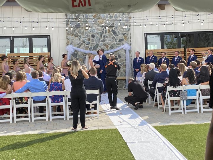 Ceremony at Ted's