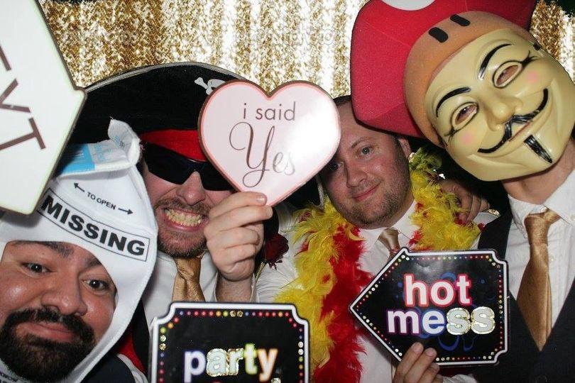 best photo booth for weddings in mcallen texas