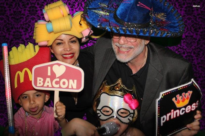 holiday parties mcallen texas photo booth
