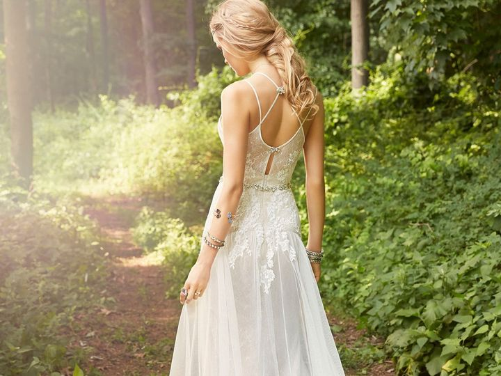 Tmx 1489767356615 Ti Adora Bridal A Line Placed Lace Sweetheart Jewe West Boylston wedding dress