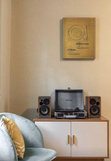 Stylish sound system