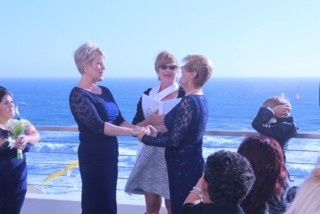 Vickie and Linda have been together for 25 years and I married them at the Cliff House in San...
