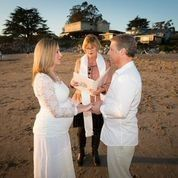 Mark and Kara had a beautiful Santa Cruz beach ceremony on January 2nd! What a joy to perform this...