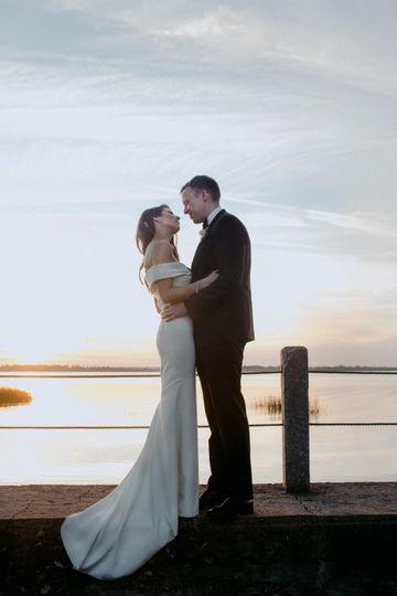 New Orleans River Wedding