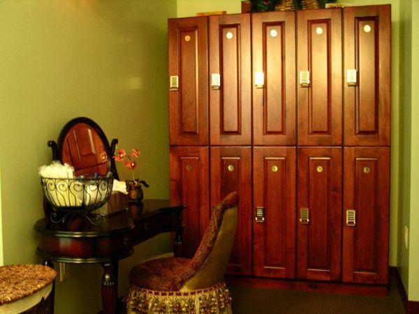 Our locker rooms have everything you need to enjoy your stay.