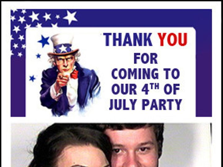 Tmx 1369939772209 Photostrip Proof Unclesam Southampton wedding rental