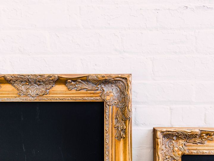 Tmx 1516890633600 Gold Frame Chalkboard Details Oneida wedding rental