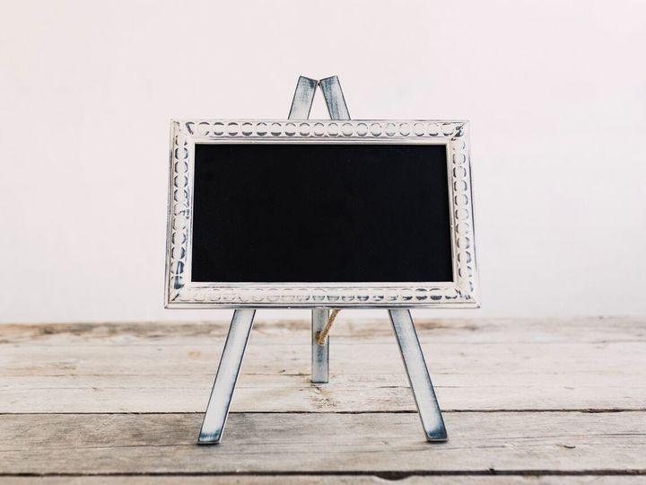 Tmx 1516890787451 Tabletop   White Weathered Chalkboard Oneida wedding rental