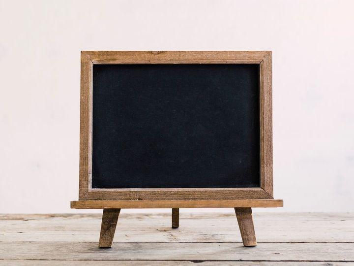 Tmx 1516890795328 Tabletop   Wood Chalkboard Oneida wedding rental