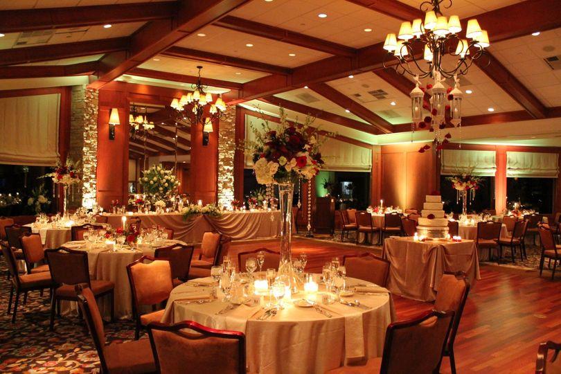 Ambient ballroom lighting