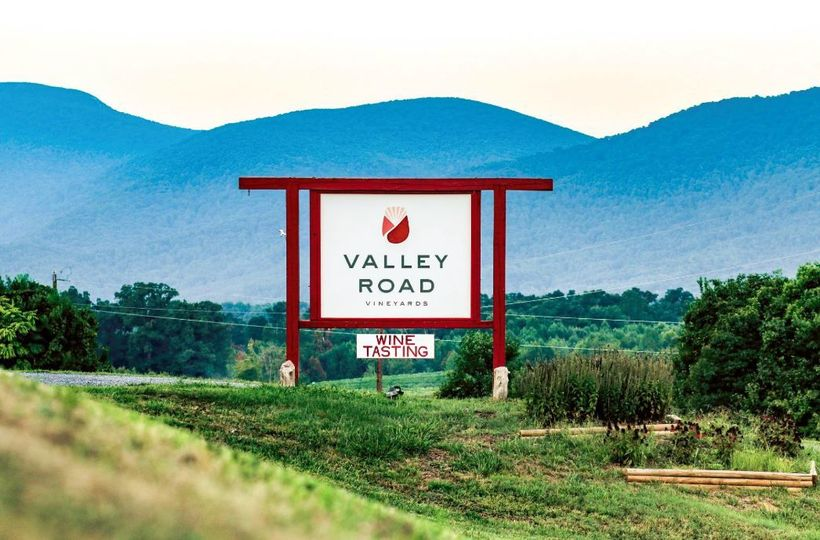 Valley Road Vineyards: the first stop on Nelson 151... just 20 minutes west of Charlottesville