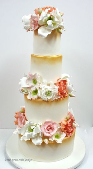 800x800 1487103784636 Wedding Cakes Nyc David Tutera Floral Custom Cak