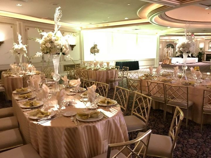 The view of the reception room