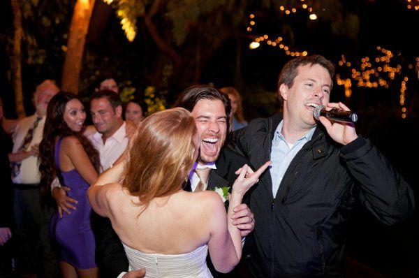 Tmx 1337276265019 DJJasonsingingtoErinandDan Newbury Park, CA wedding dj