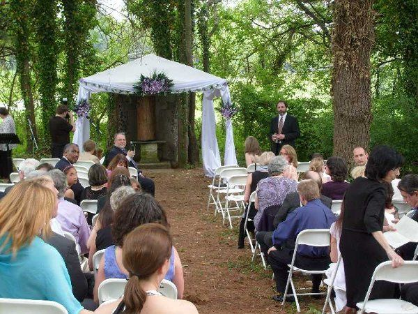Outdoor Chapel with Guests
