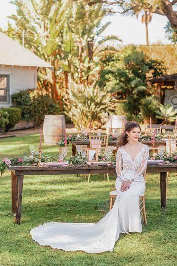 Bride in Tustin
