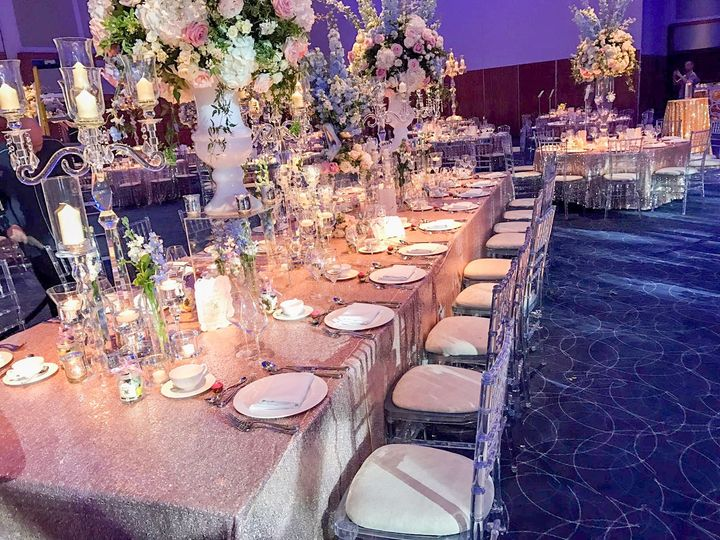 Pink White Reception