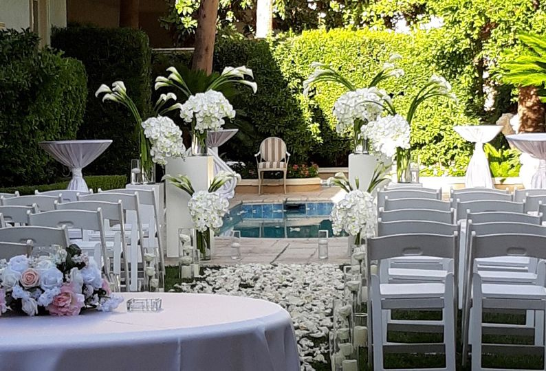 Luxury Ceremony Decor