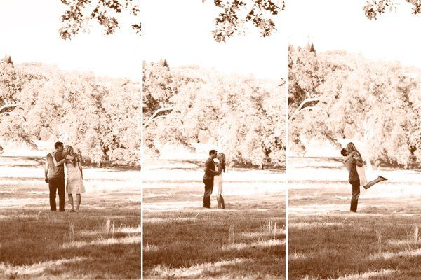 country, engagement picture