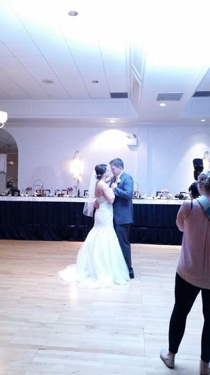 The first dance is always magic