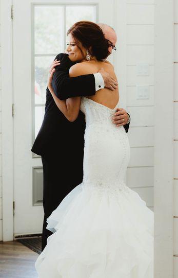 Father bride photo