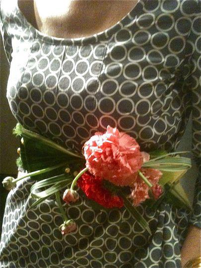 Floral slash