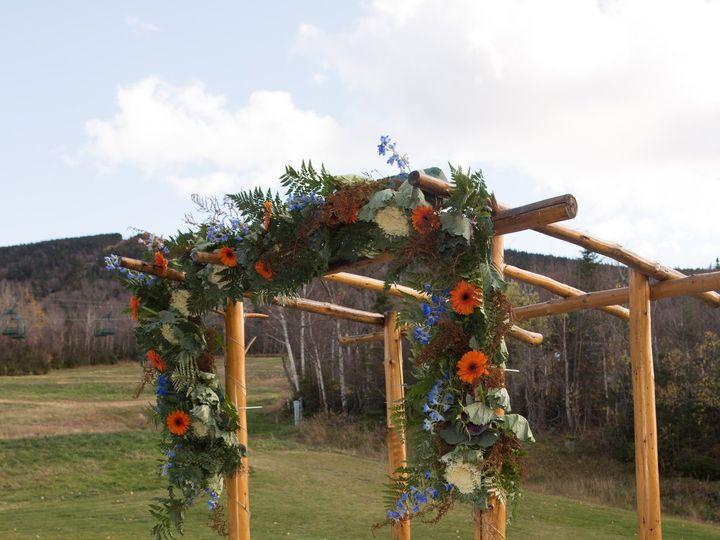 Tmx 1451496856284 Jess Chris Arch Rangeley wedding florist