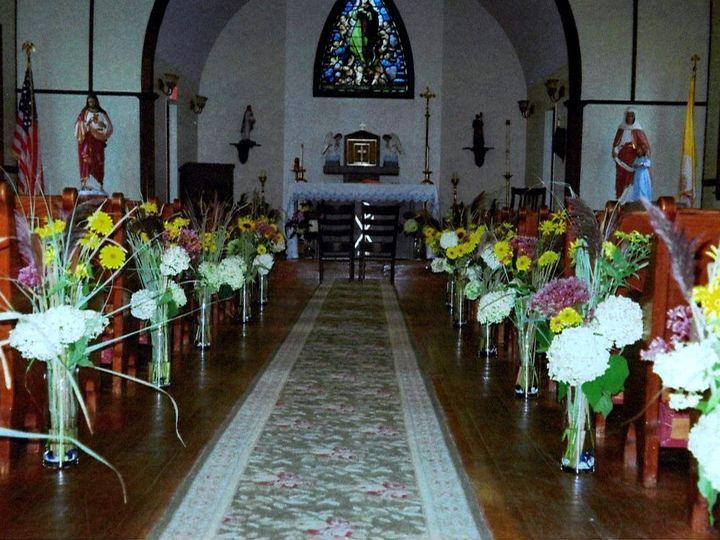 Tmx 1451497747433 Frost Wedding Aisle 2 Rangeley wedding florist