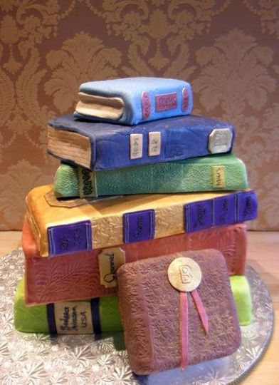 Sedona Library Cake by Sedona Cake Couture