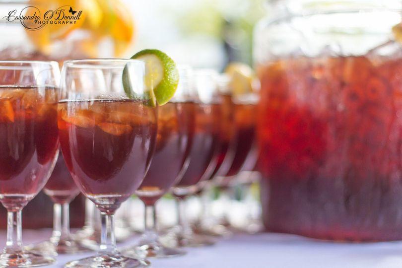 Wedding refreshment