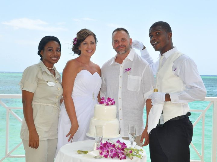 Tmx 1437428635454 Andy Malisa Redmond Wedding Montego Bay 3 2014 Mercersburg wedding travel