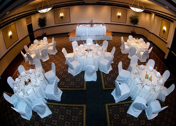 Elegant Ballroom with seating capacity of 220 for Weddings!